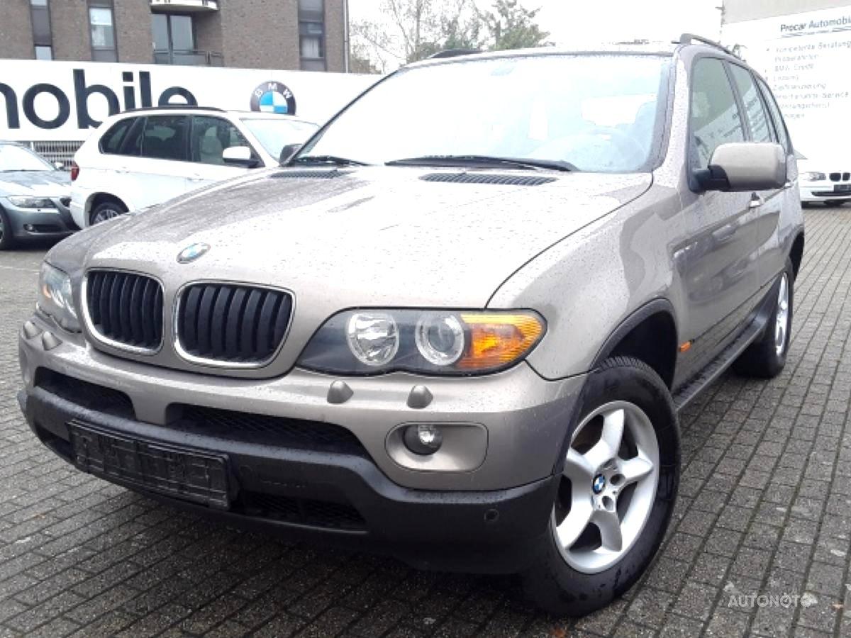 BMW X5, 2004 - celkový pohled