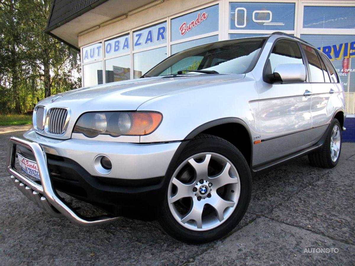 BMW X5, 2003 - celkový pohled