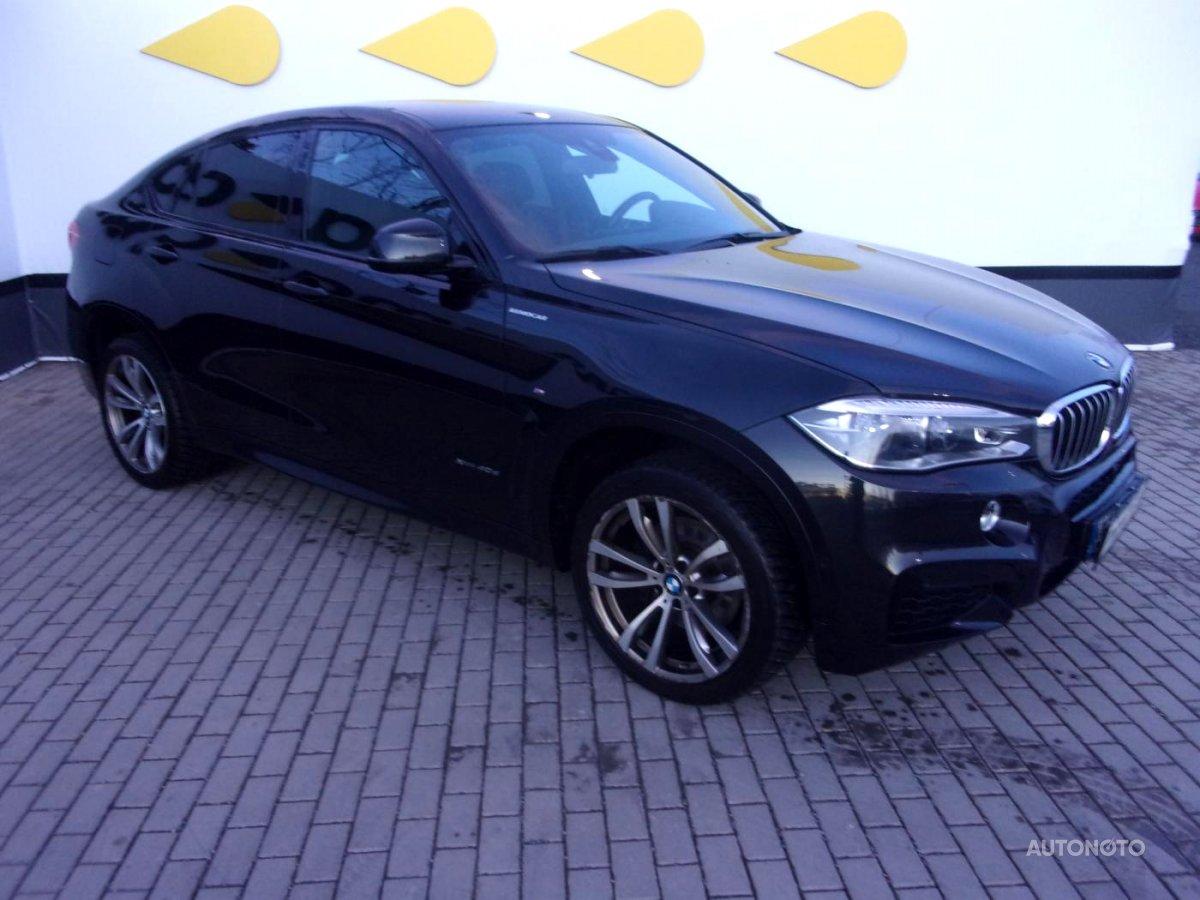 BMW X6, 2016 - celkový pohled