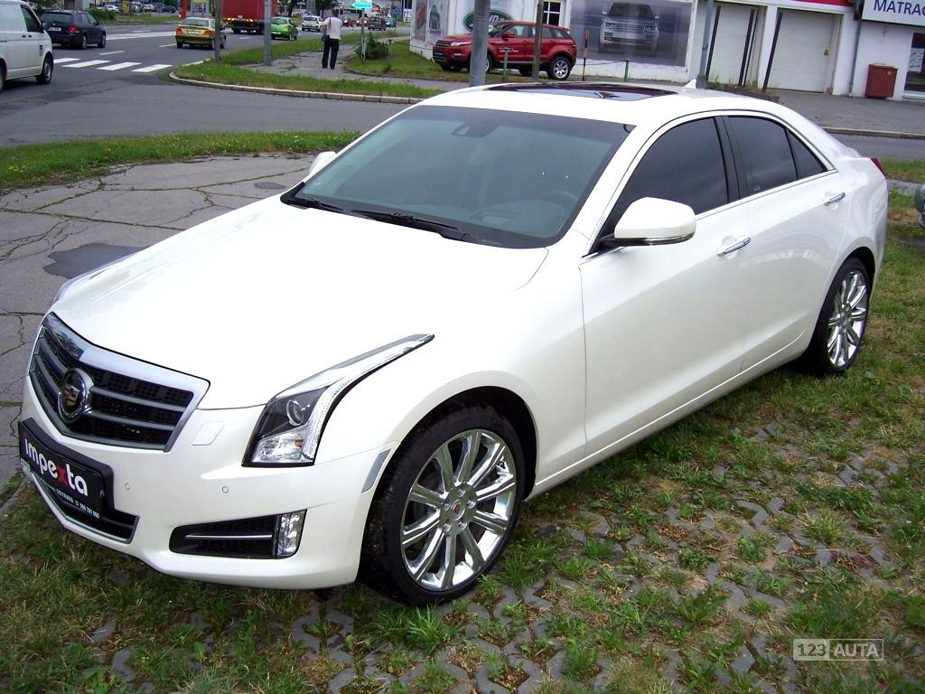 Cadillac ATS, 2014 - celkový pohled