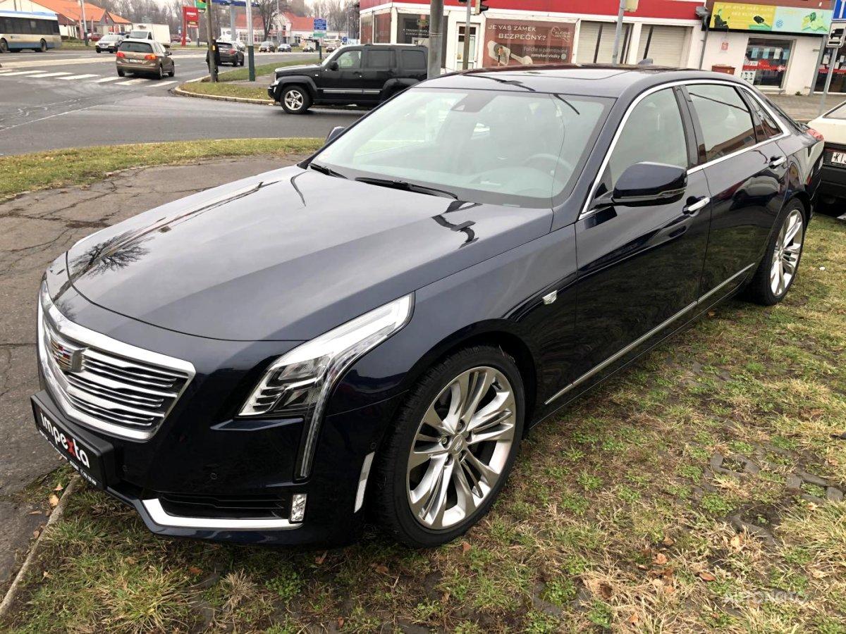 Cadillac CT6, 2016 - celkový pohled