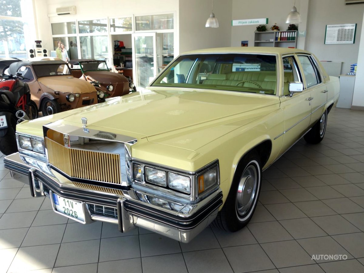 Cadillac DeVille, 1977 - celkový pohled