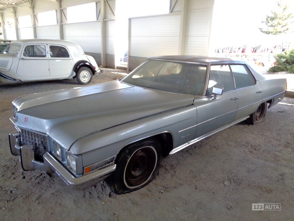 Cadillac DeVille, 1971 - celkový pohled