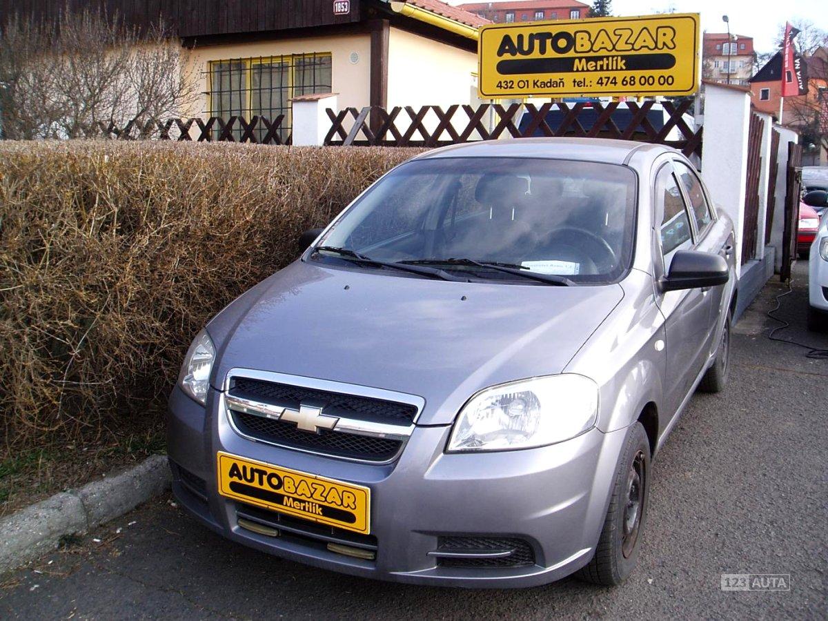 Chevrolet Aveo, 2010 - celkový pohled