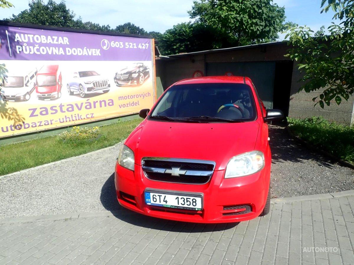 Chevrolet Aveo, 2009 - celkový pohled