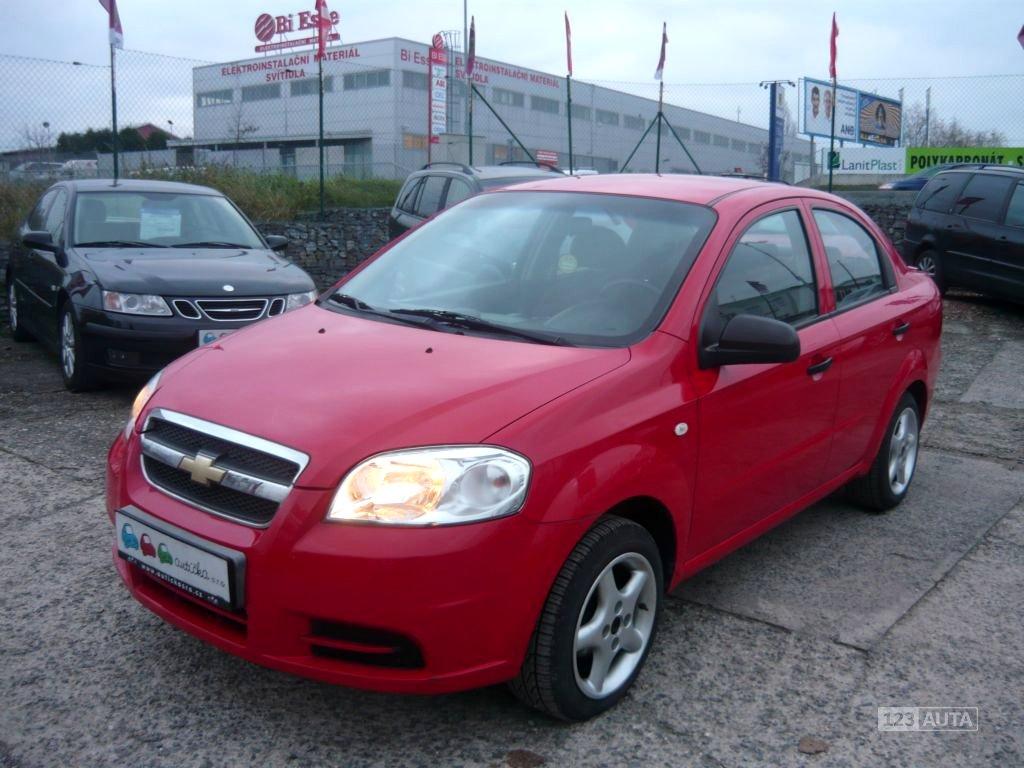 Chevrolet Aveo, 2008 - celkový pohled