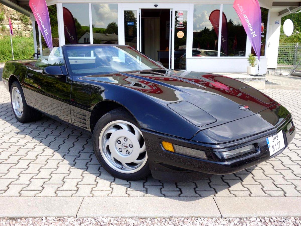Chevrolet Corvette, 1989 - celkový pohled