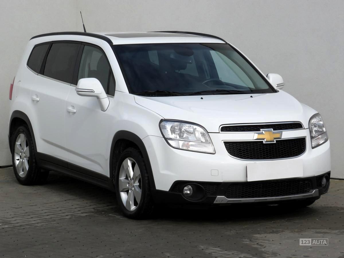 Chevrolet Orlando, 2014 - celkový pohled