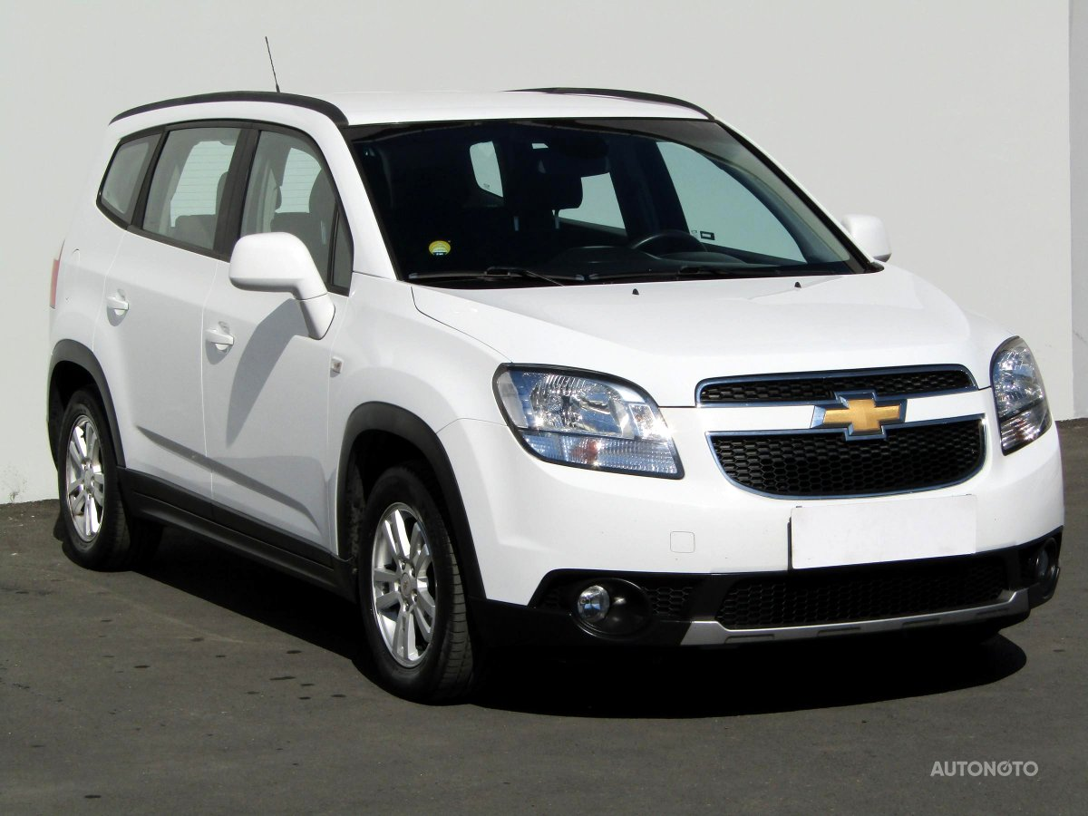 Chevrolet Orlando, 2012 - celkový pohled