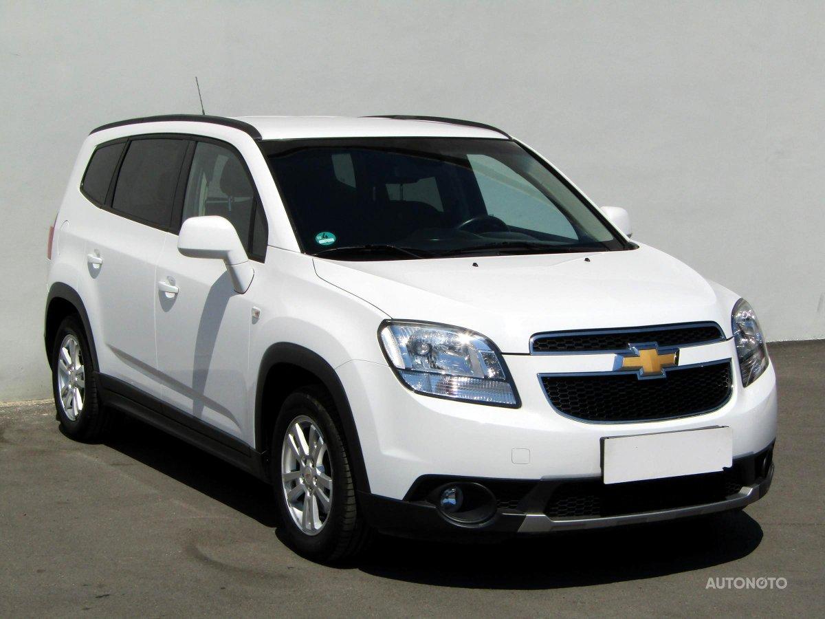 Chevrolet Orlando, 2013 - celkový pohled