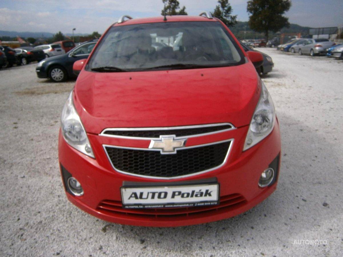 Chevrolet Spark, 2012 - celkový pohled