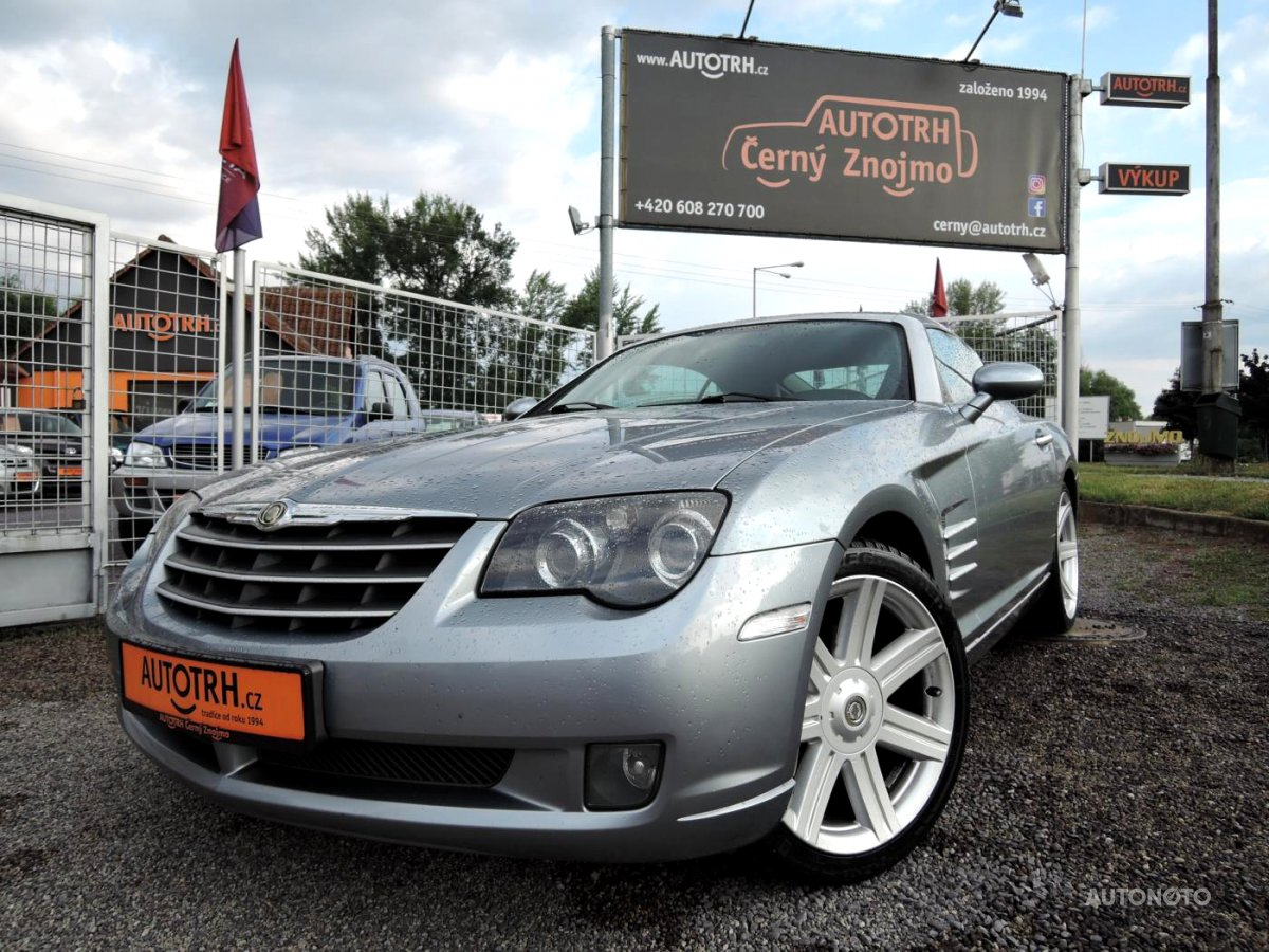 Chrysler Crossfire, 2004 - celkový pohled