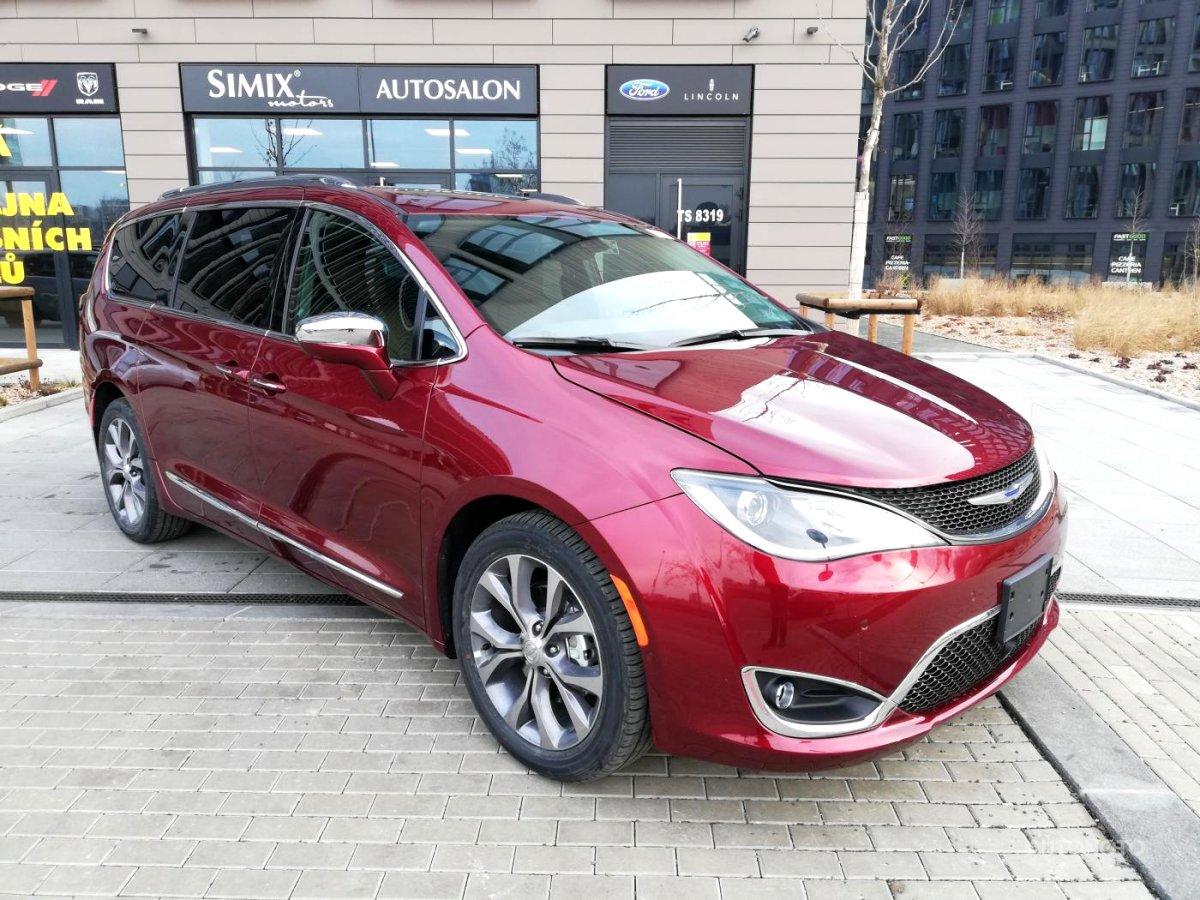 Chrysler Pacifica, 2019 - celkový pohled