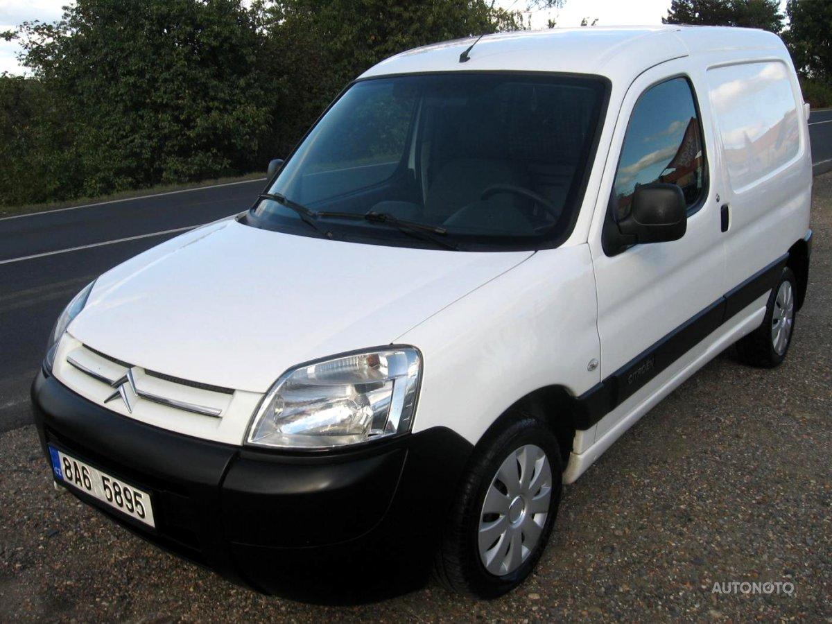 Citroën Berlingo, 2008 - celkový pohled
