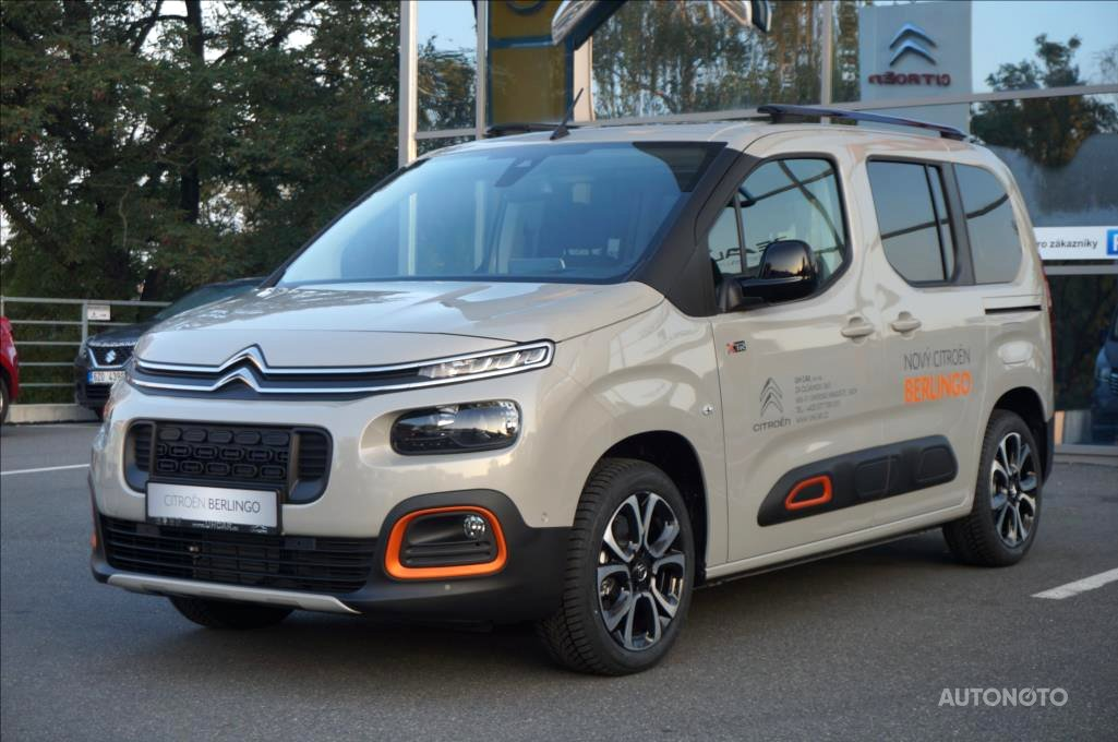 Citroën Berlingo, 2018 - celkový pohled