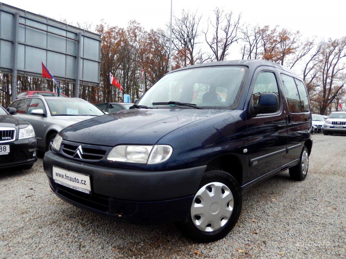Citroën Berlingo, 2001 - celkový pohled