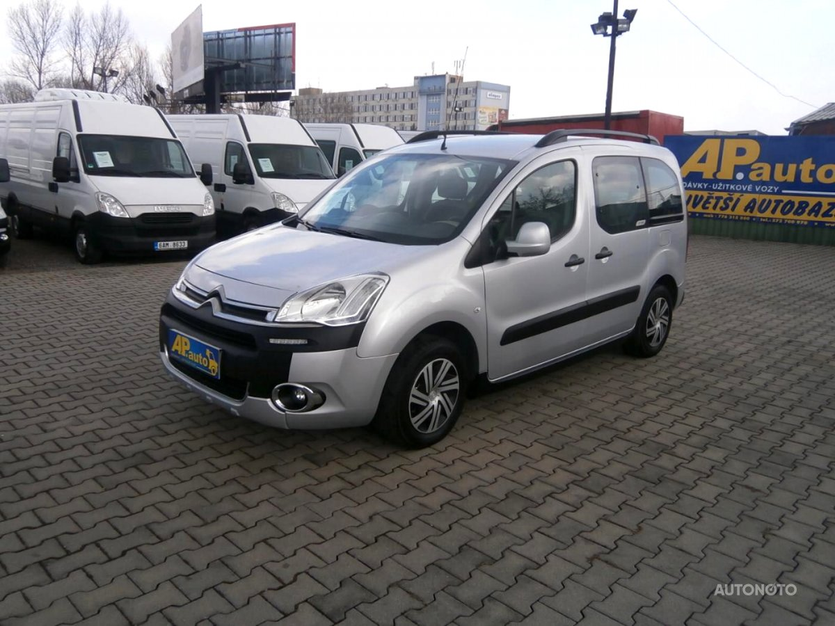 Citroën Berlingo, 2014 - celkový pohled