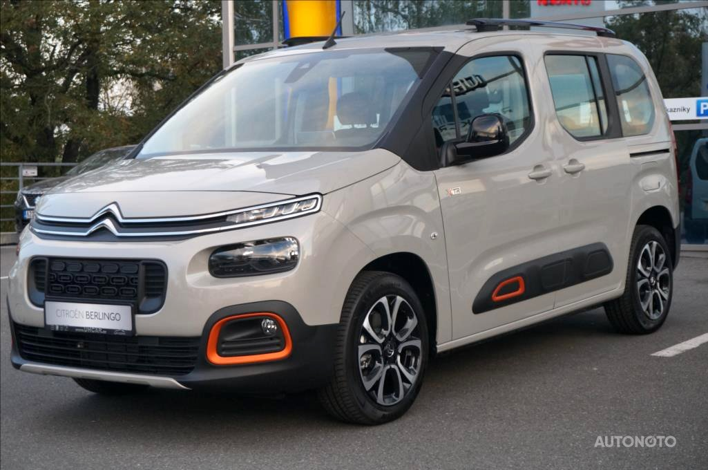 Citroën Berlingo, 2019 - celkový pohled