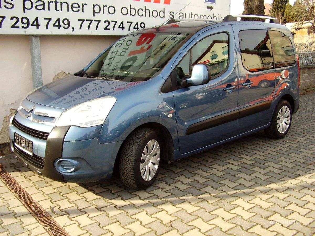 Citroën Berlingo, 2010 - celkový pohled