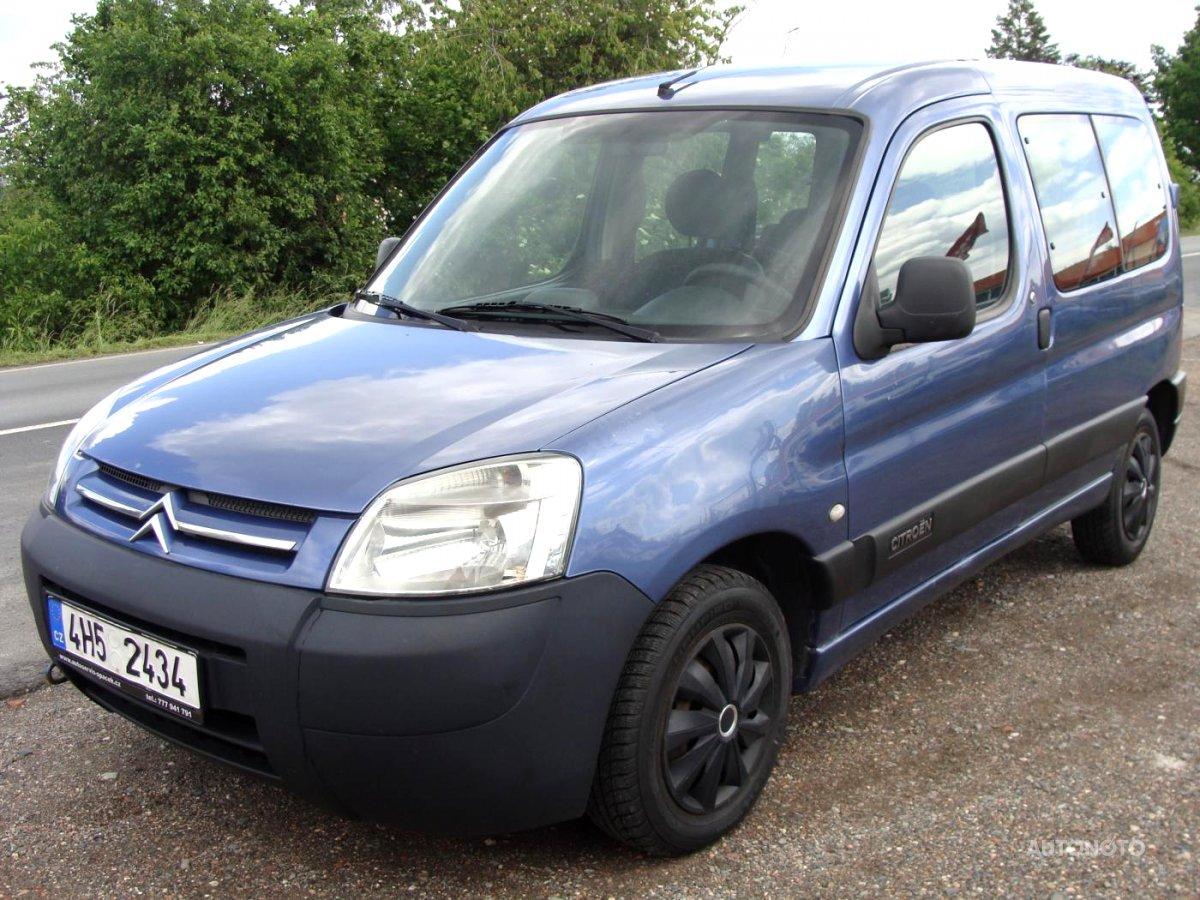 Citroën Berlingo, 2006 - celkový pohled