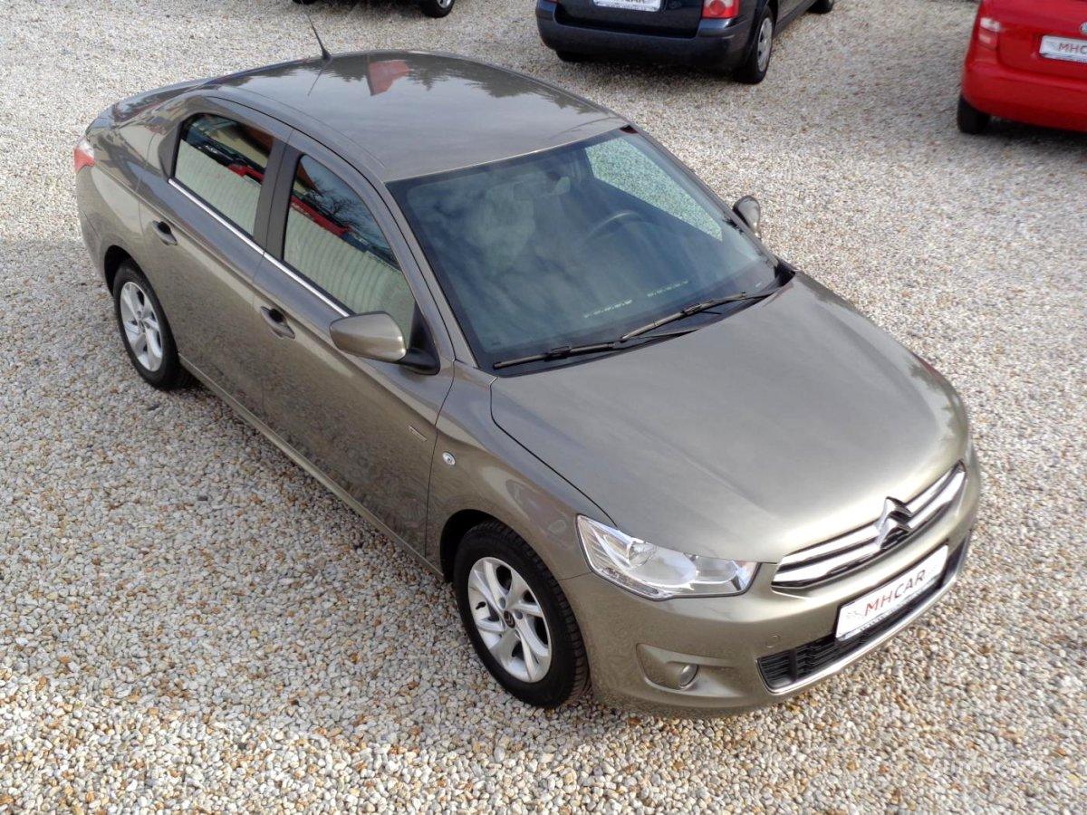 Citroën C-Elysée, 2015 - celkový pohled
