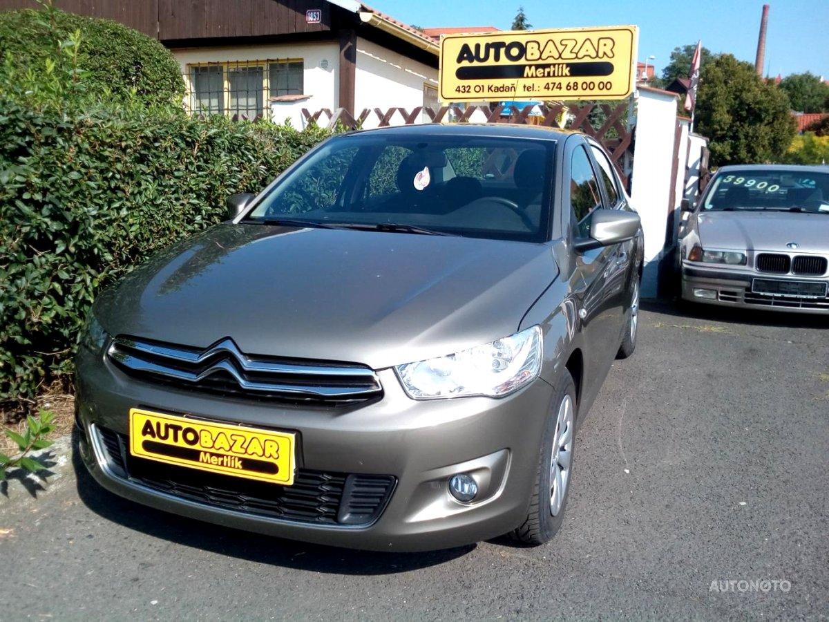 Citroën C-Elysée, 2013 - celkový pohled