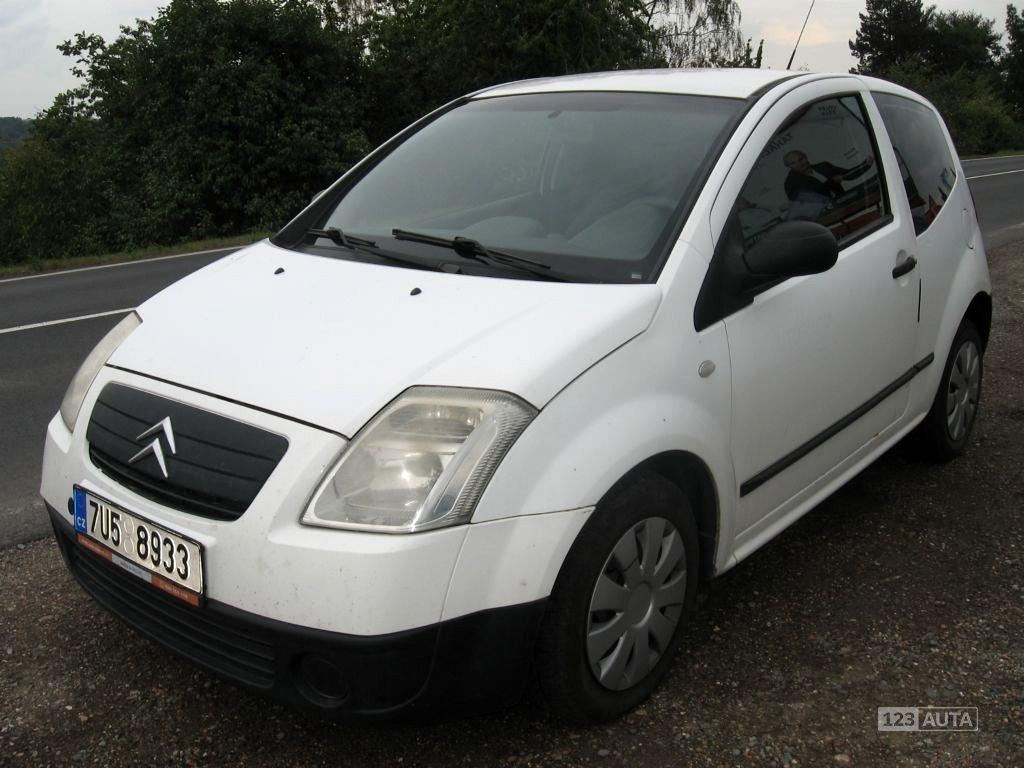 Citroën C2, 2005 - celkový pohled