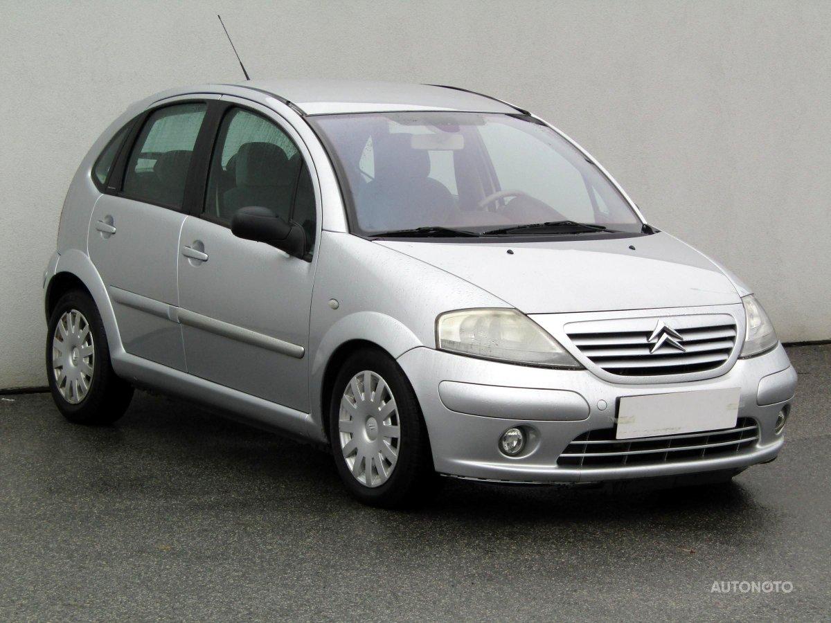 Citroën C3, 2004 - celkový pohled