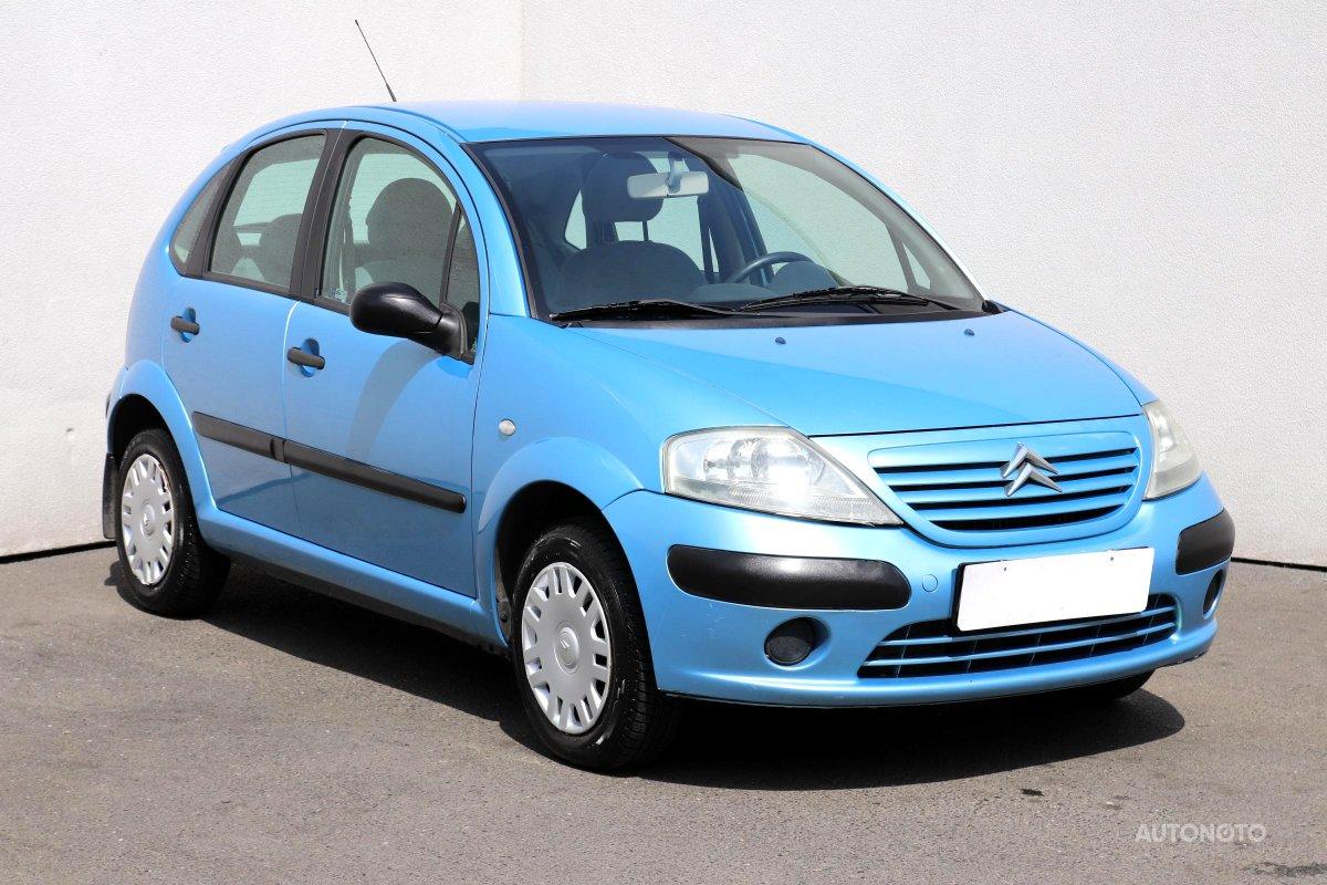 Citroën C3, 2003 - celkový pohled