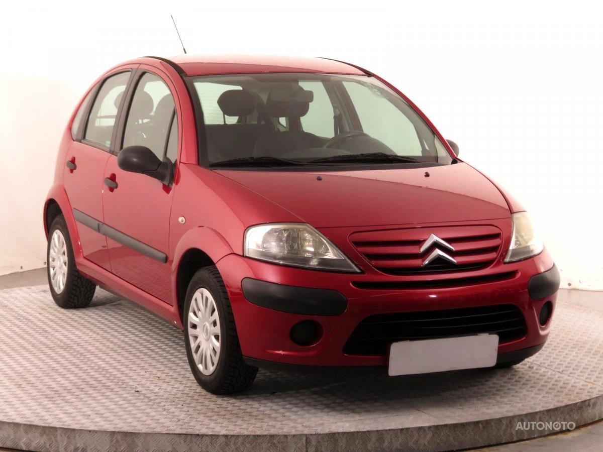 Citroën C3, 2006 - celkový pohled