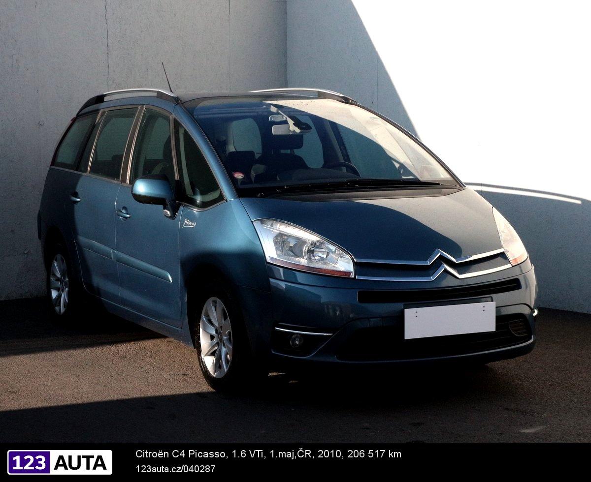 Citroën C4 Picasso, 2010 - celkový pohled