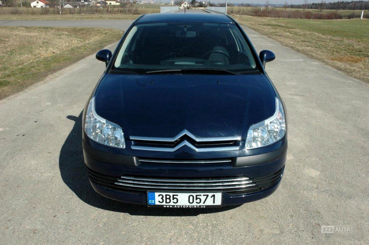 Citroën C4, 2008 - celkový pohled