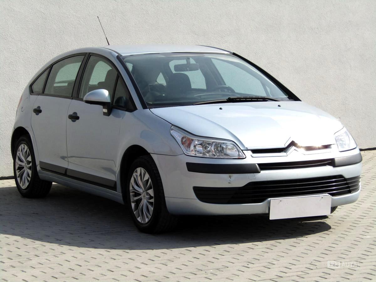 Citroën C4, 2006 - celkový pohled