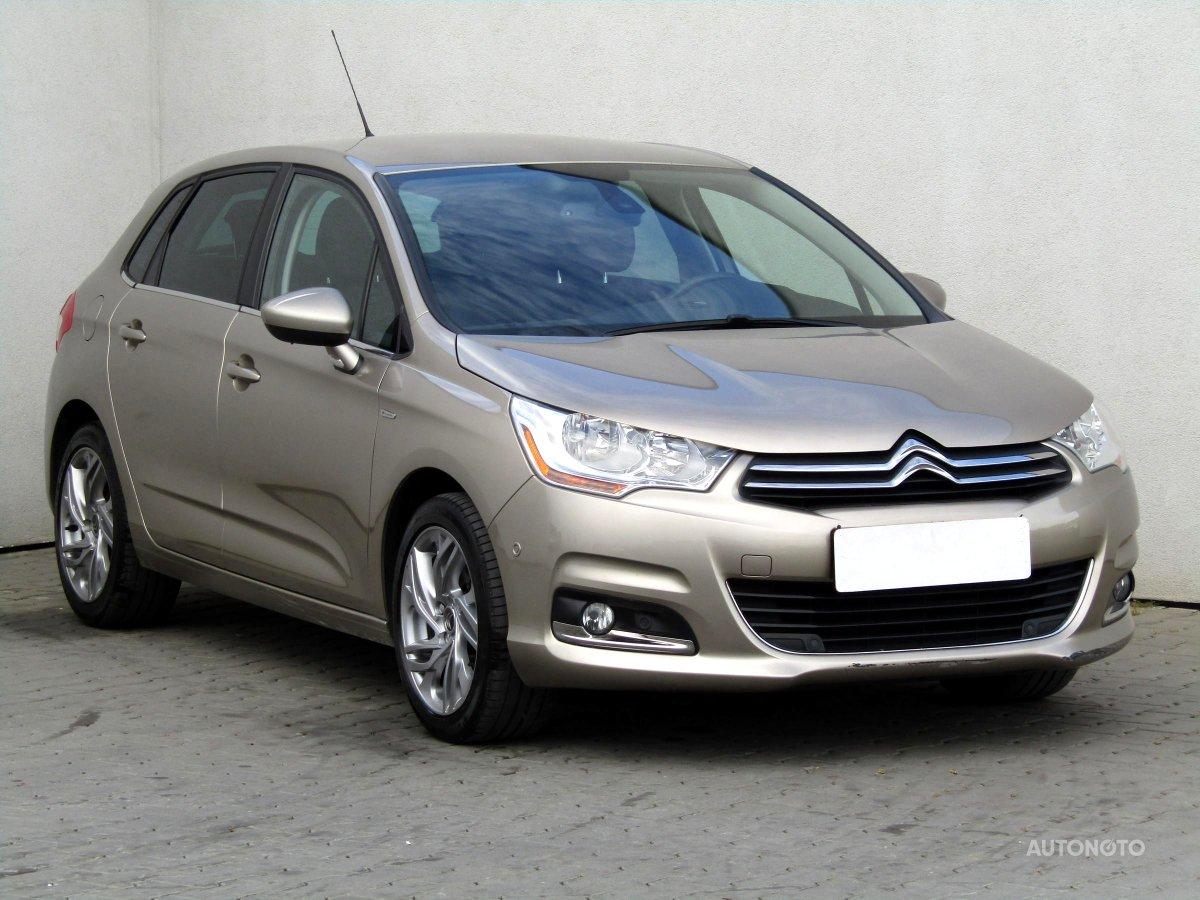 Citroën C4, 2014 - celkový pohled