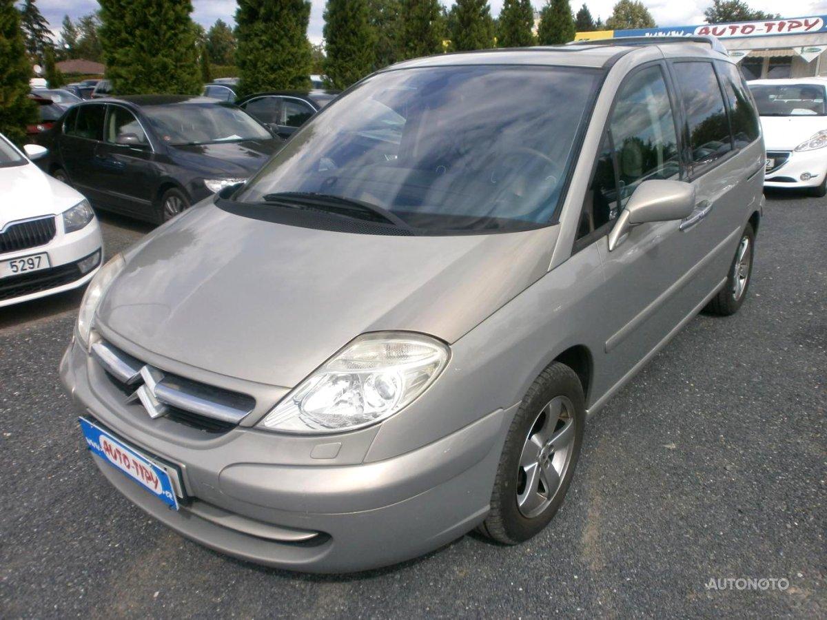 Citroën C8, 2005 - celkový pohled
