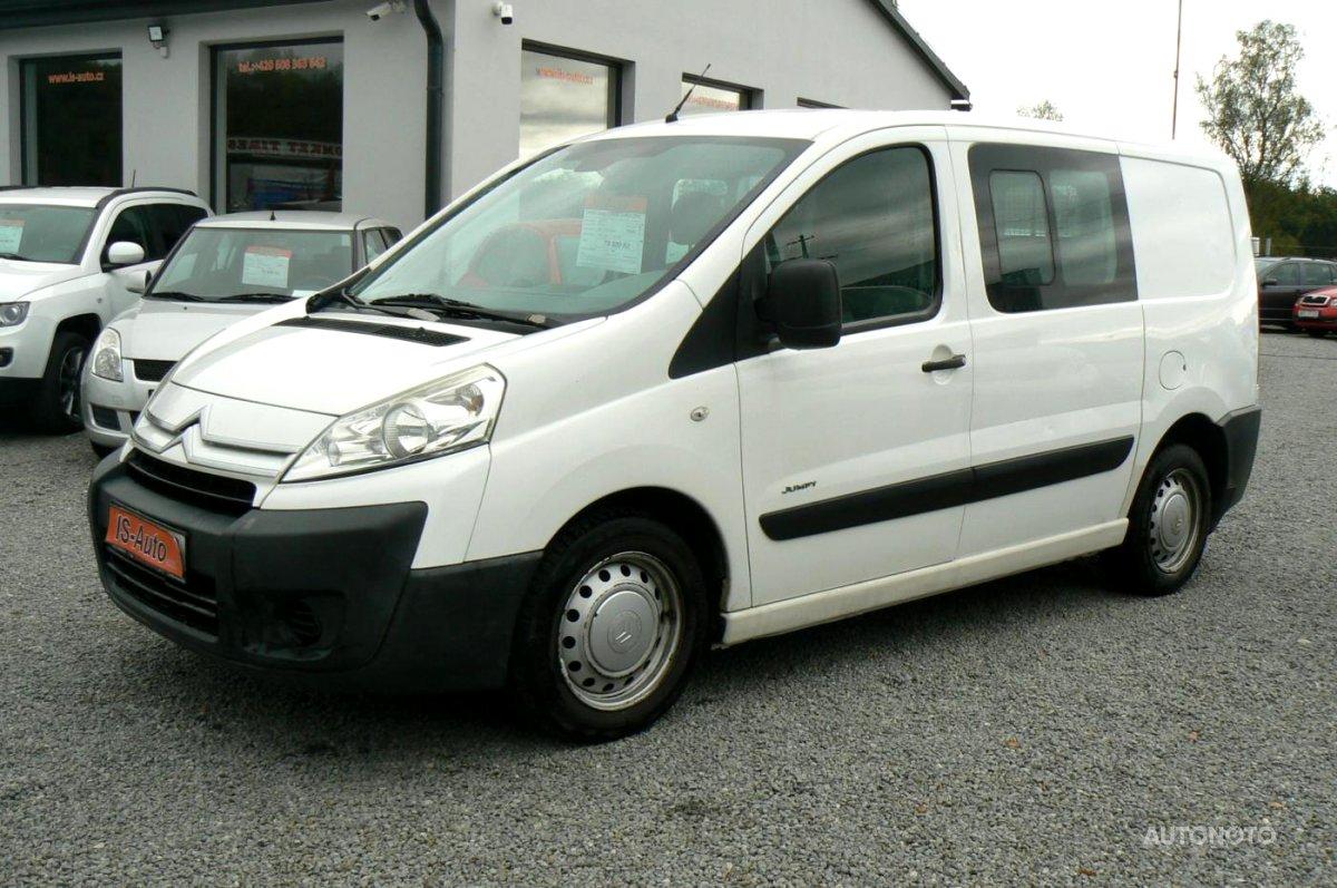 Citroën Jumpy, 2007 - celkový pohled
