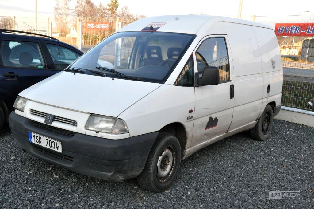 Citroën Jumpy, 1996 - celkový pohled