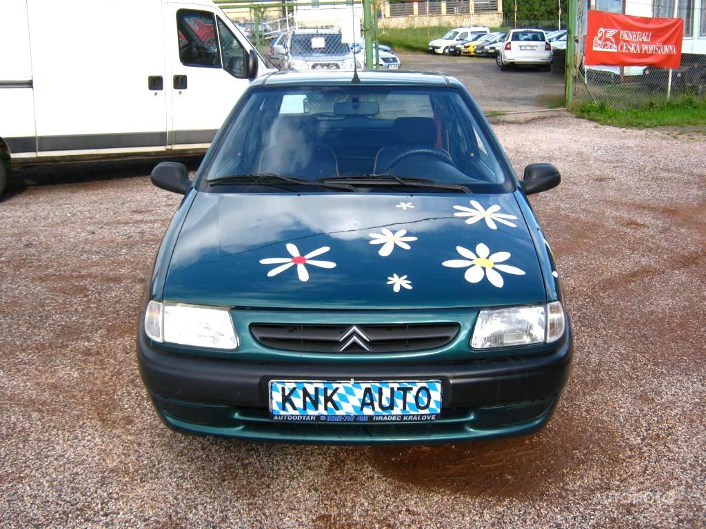 Citroën Saxo, 1999 - celkový pohled
