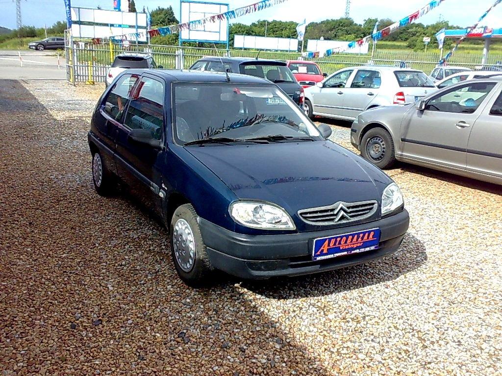 Citroën Saxo, 2002 - celkový pohled