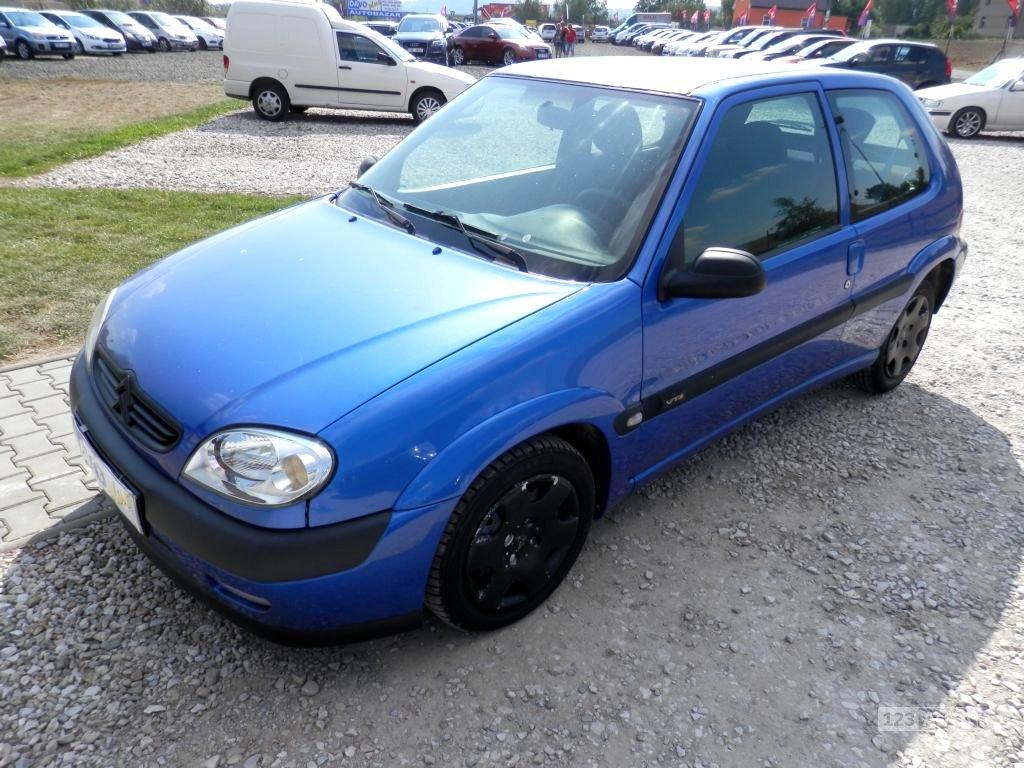 Citroën Saxo, 2001 - celkový pohled