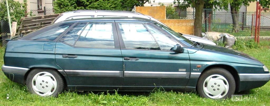 Citroën XM, 1998 - celkový pohled