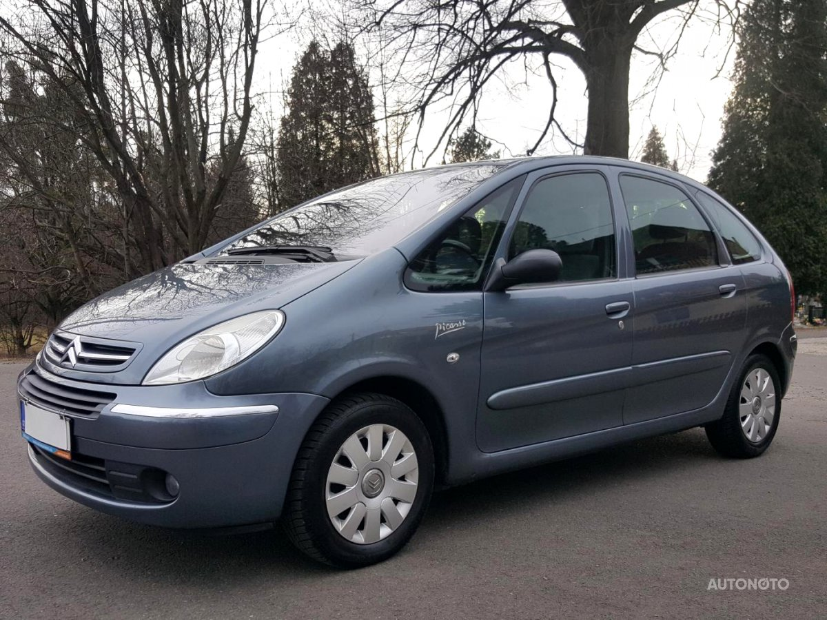 Citroën Xsara Picasso, 2009 - celkový pohled