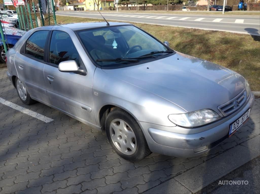 Citroën Xsara, 2000 - celkový pohled