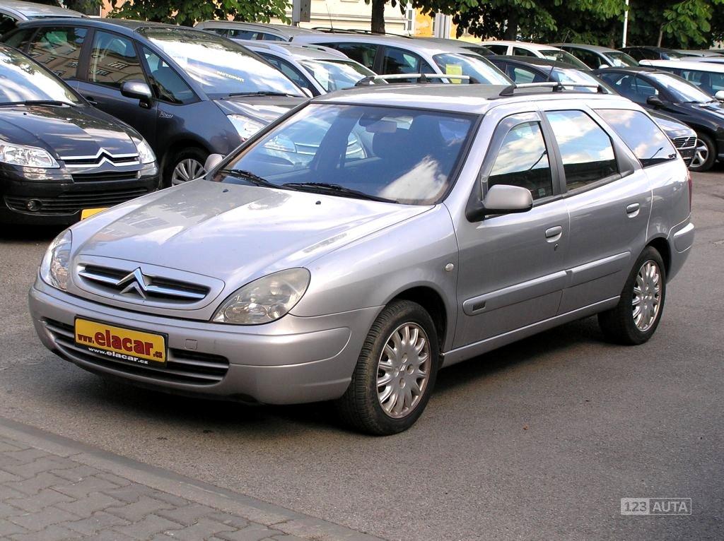 Citroën Xsara, 2002 - celkový pohled