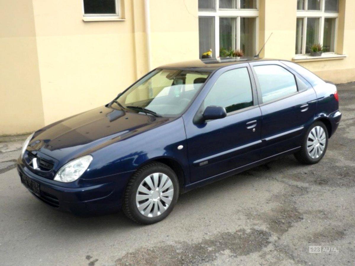 Citroën Xsara, 2001 - celkový pohled