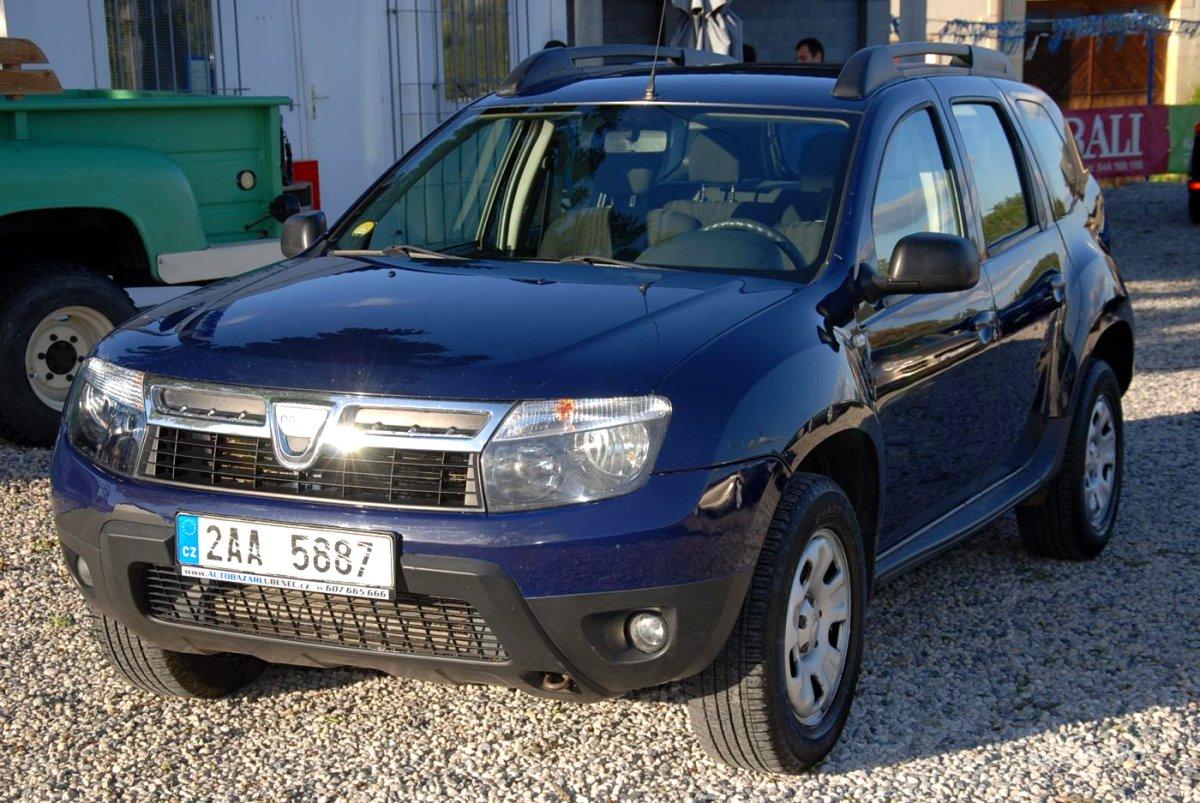 Dacia Duster, 2010 - celkový pohled