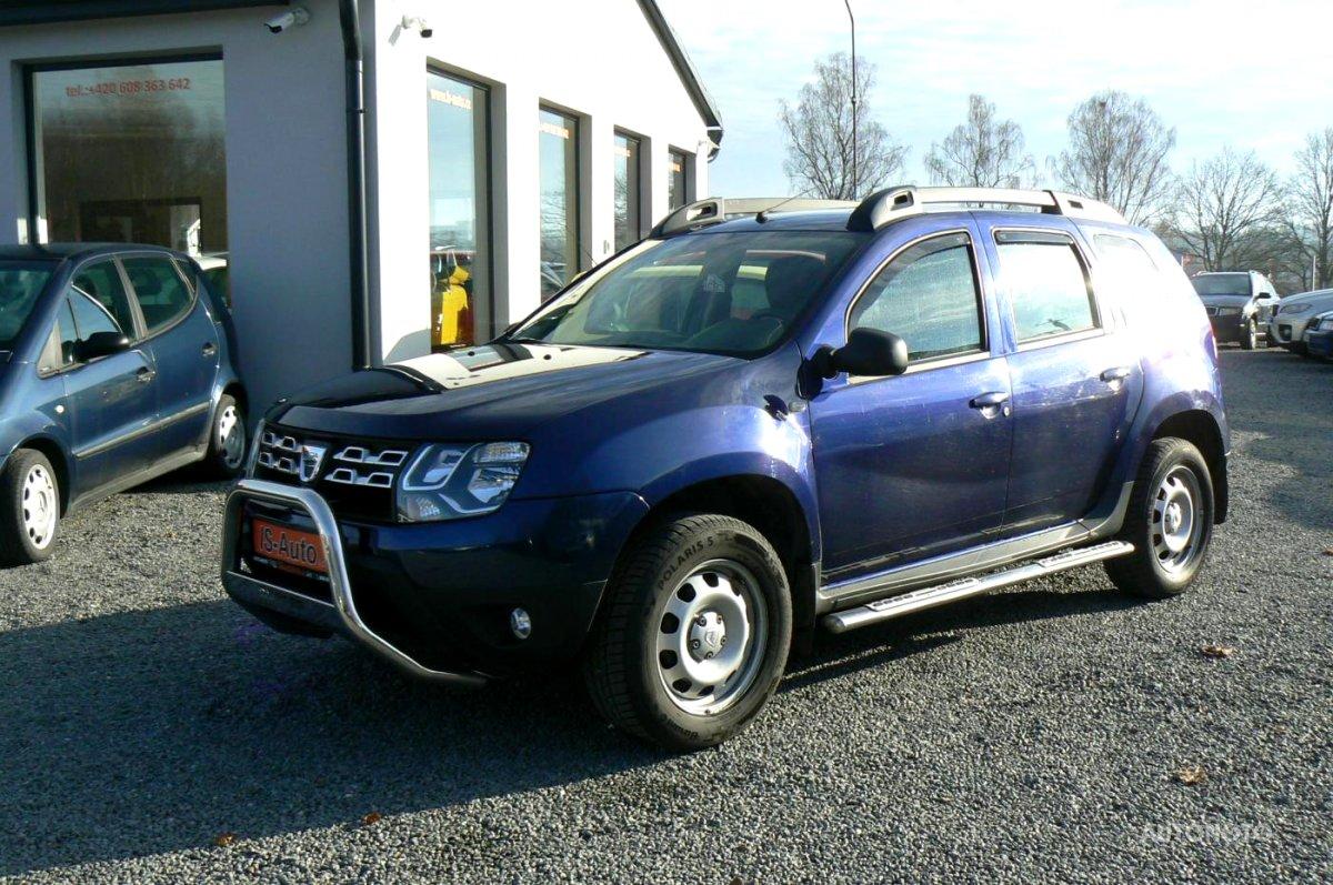 Dacia Duster, 2017 - celkový pohled