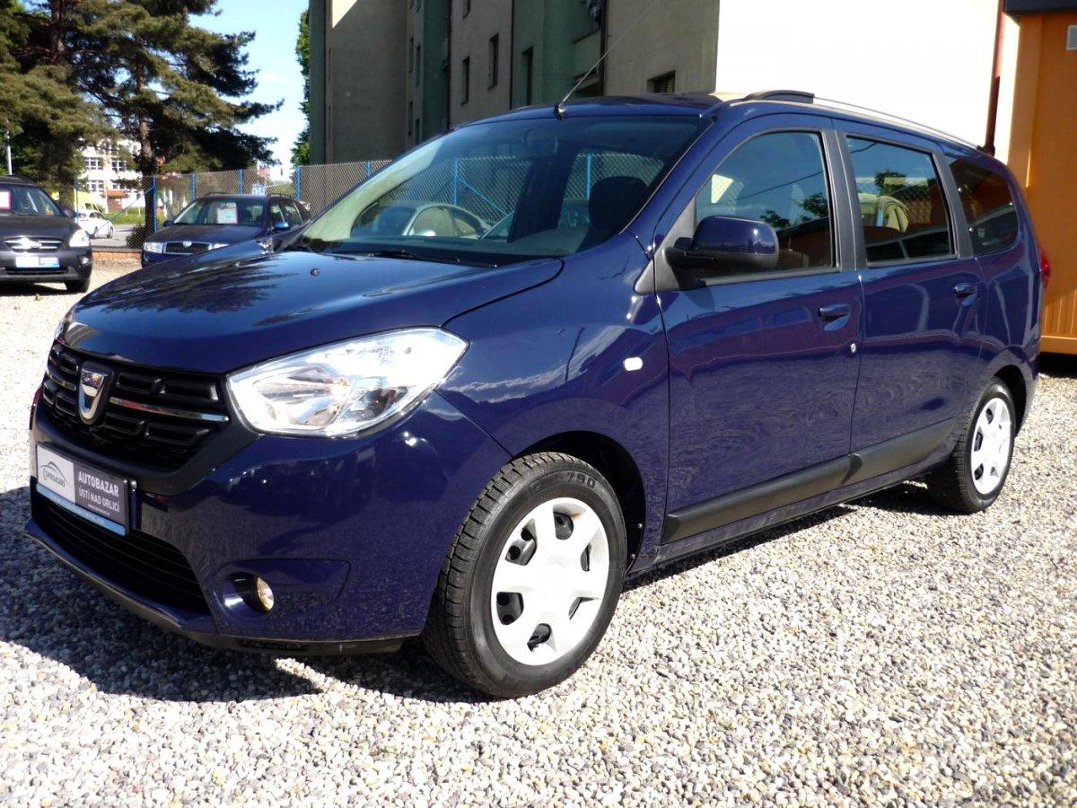 Dacia Lodgy, 2018 - celkový pohled