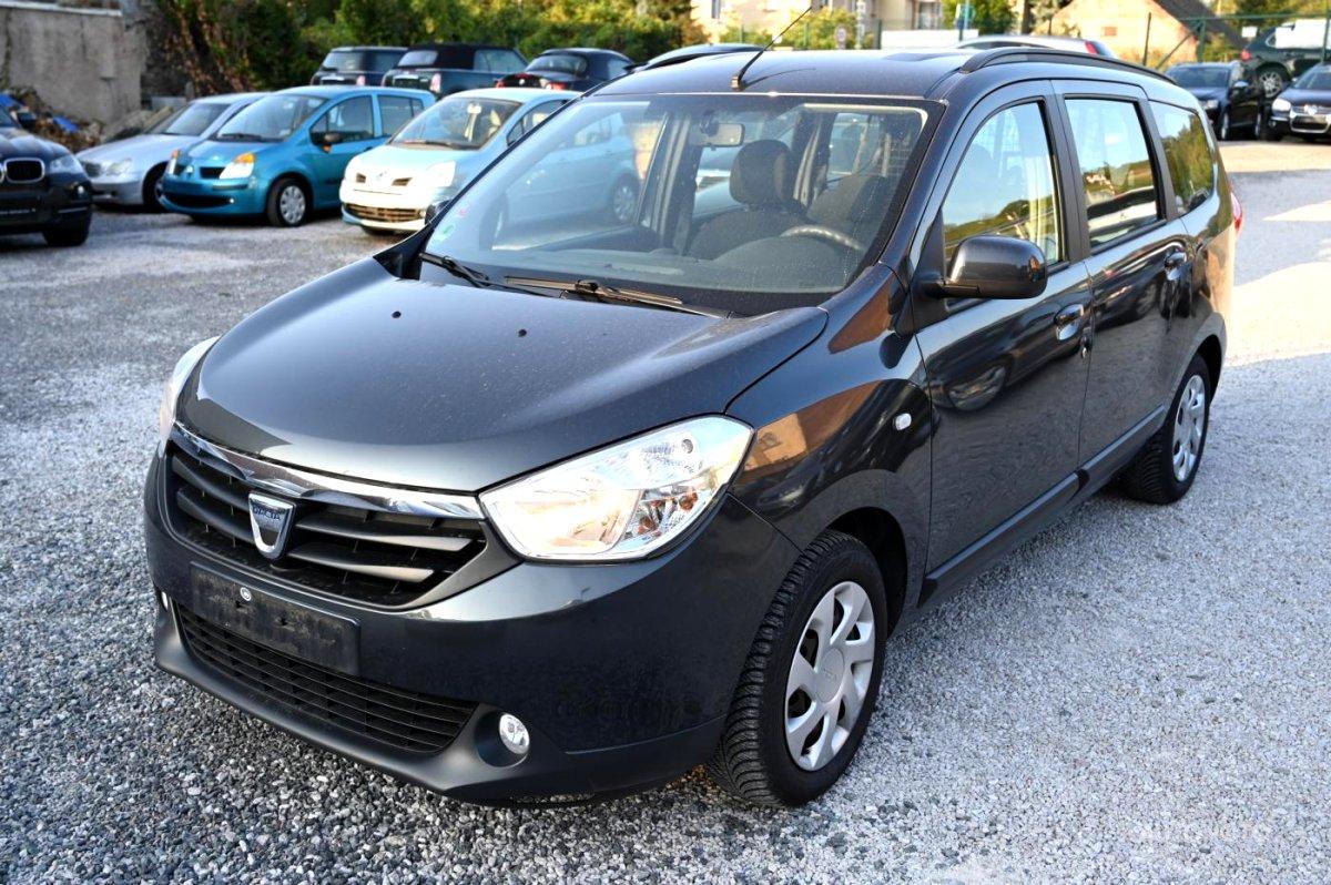 Dacia Lodgy, 2012 - celkový pohled
