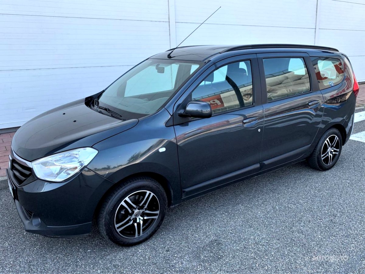 Dacia Lodgy, 2013 - celkový pohled